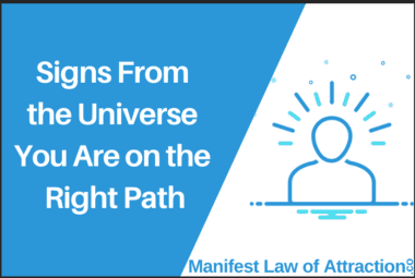 Signs From The Universe You Are On The Right Path