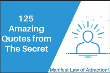 125 Amazing Quotes From The Secret