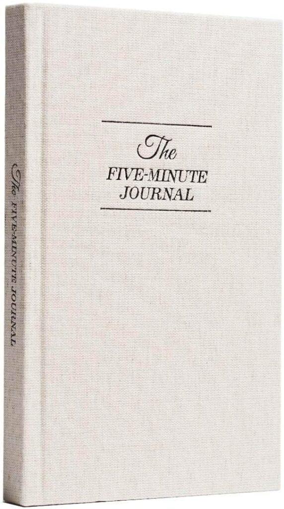Intelligent 5 minute journal