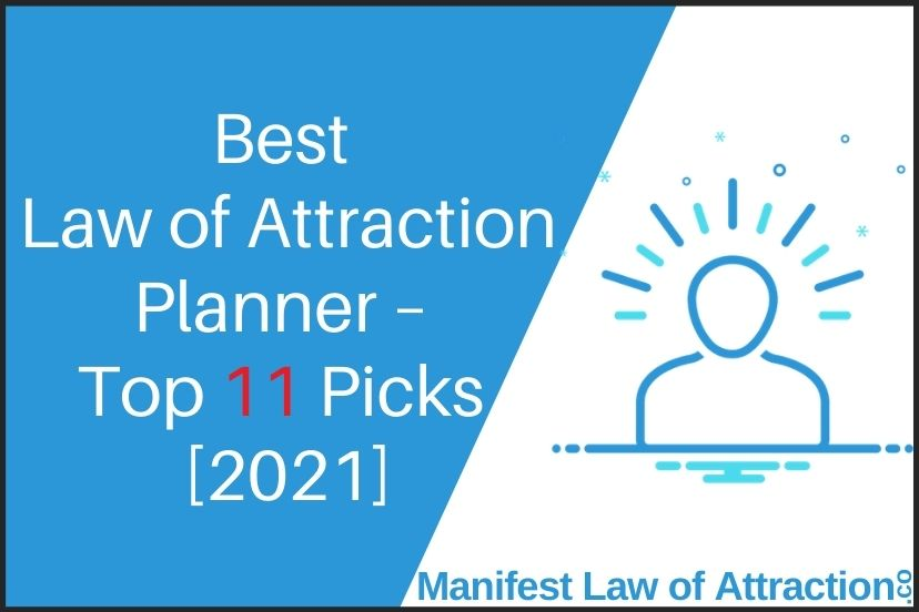 Best Law of Attraction Planner – Top 11 Picks [2021] (1)