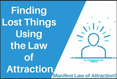 Finding Lost Things Using The Law Of Attraction