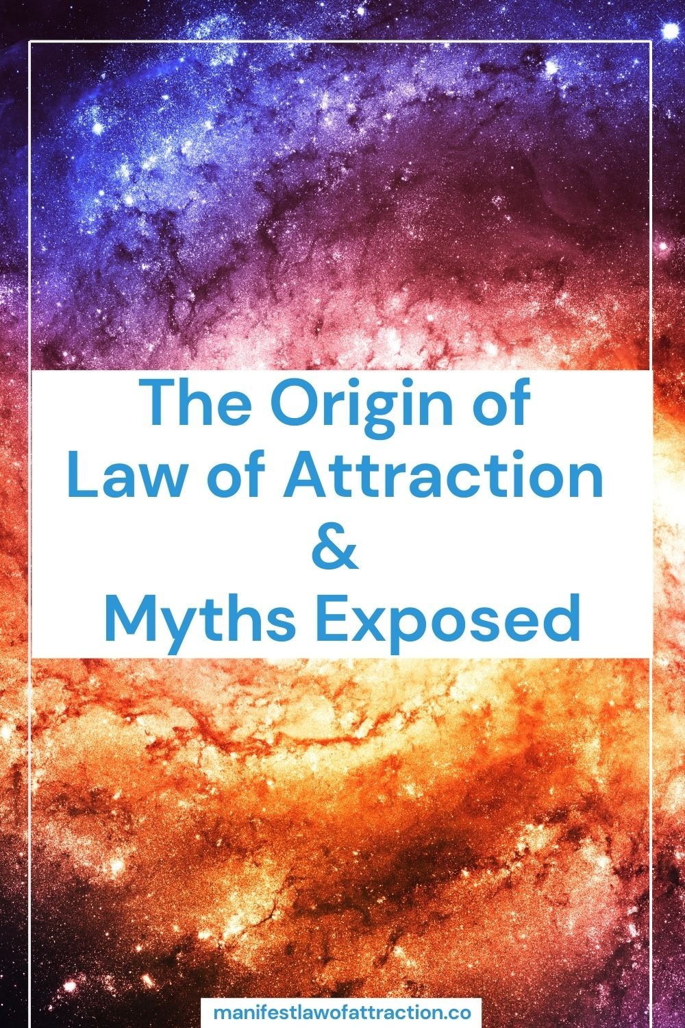 The Origin of Law of Attraction & Myths Exposed 1