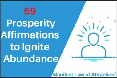 59 Prosperity Affirmations To Ignite Abundance