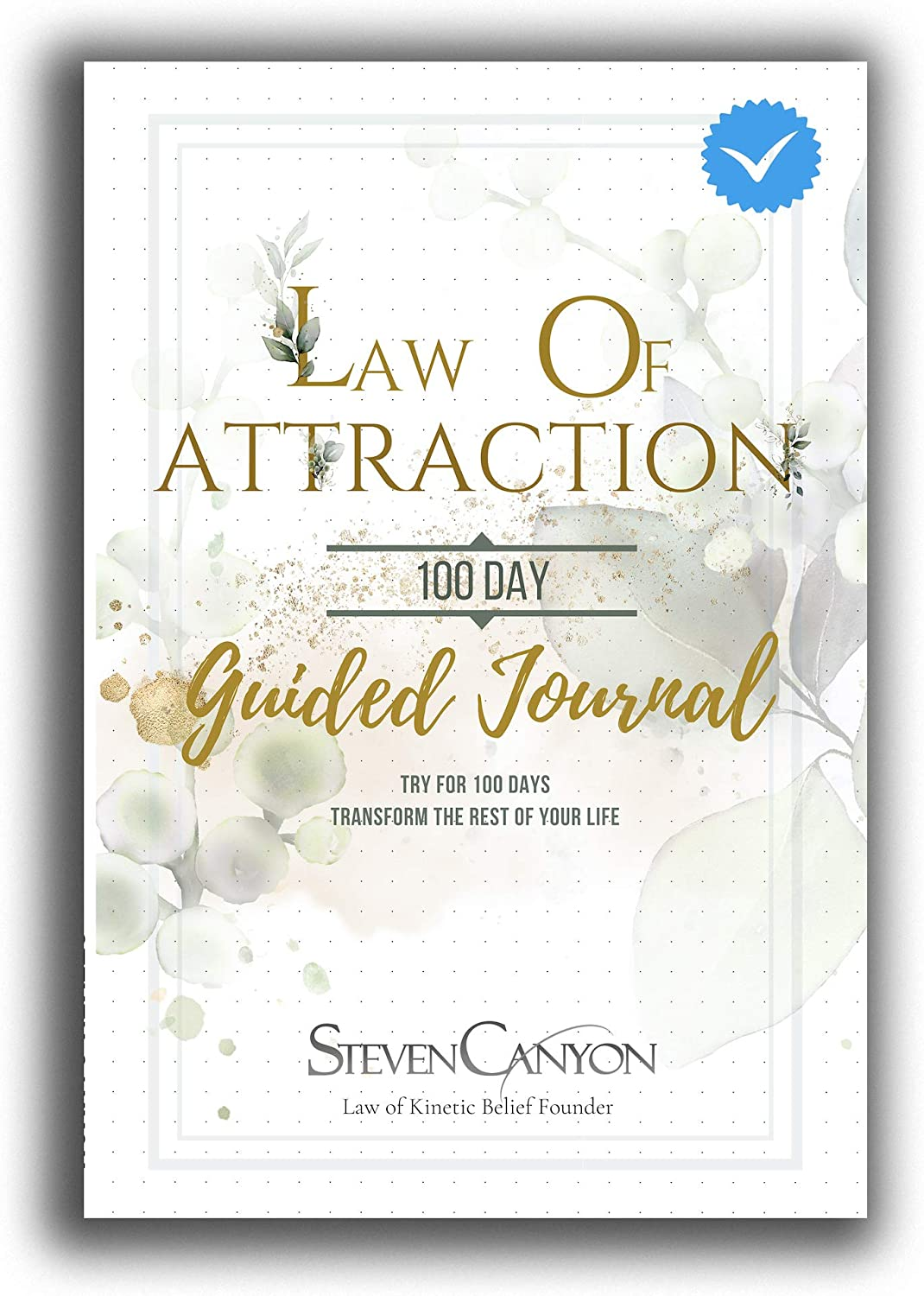 100 day guided journal law of attraction journal