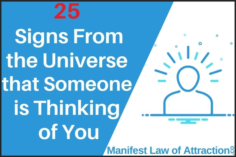 25 Signs From The Universe That Someone Is Thinking Of You