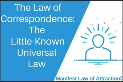 The Law Of Correspondence The Little-Known Universal Law For Lasting Solution To Life's Challenges